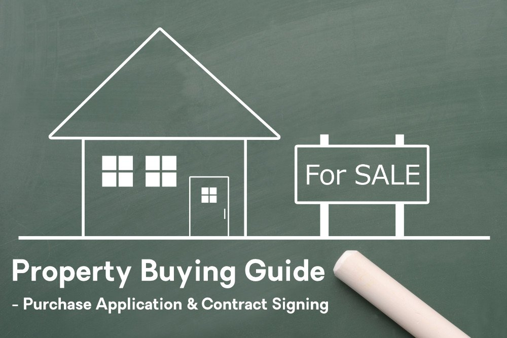 Property Buying Guide - Purchase Application & Contract Signing Featured Image