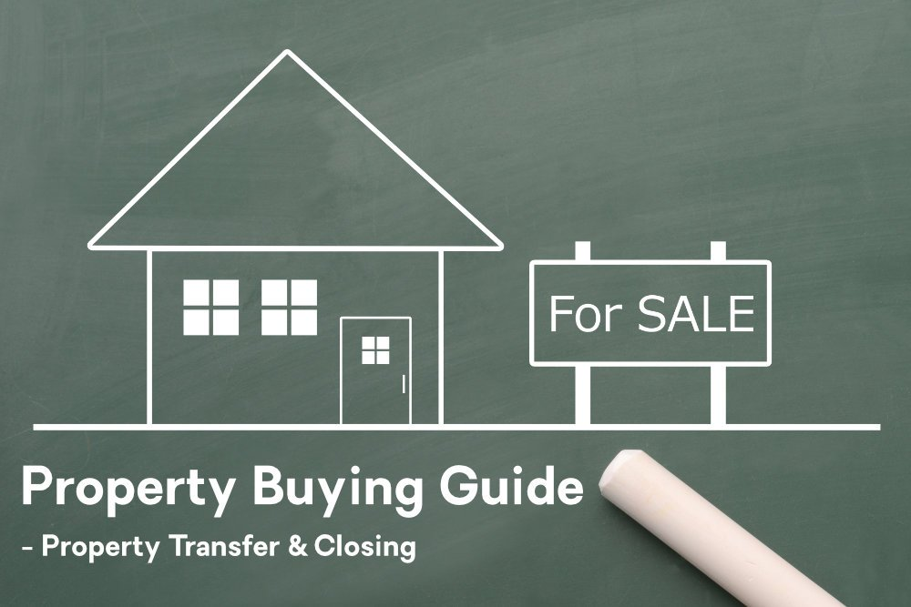 Property Buying Guide Image - Property Transfer & Closing