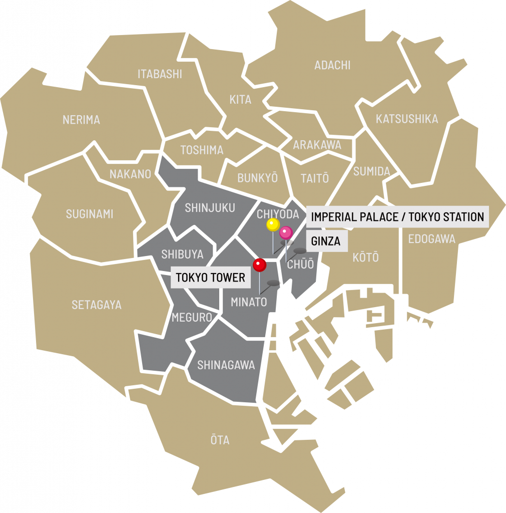 Tokyo Business Districts